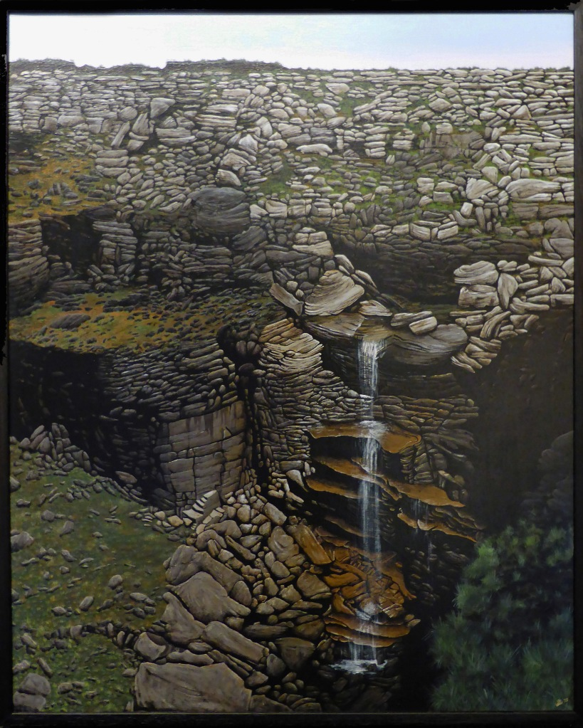Kinder Downfall by Stuart Johnson, winner of the Derbyshire Trophy 2015